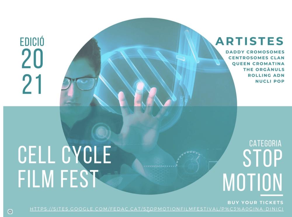 1a edició del Cell Cycle Film Fest dirigit a estudiants de biologia de secundària de les escoles FEDAC.