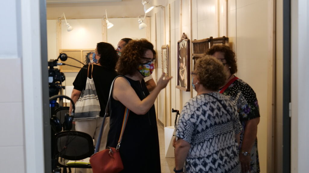 """L'acte de presentació del projecte """"Més ART a les escoles"""", impulsat per les escoles FEDAC, ha comptat amb l'assistència de docents de diferents centres i entitats que impulsen la presència de l'art en els centres educatius."""