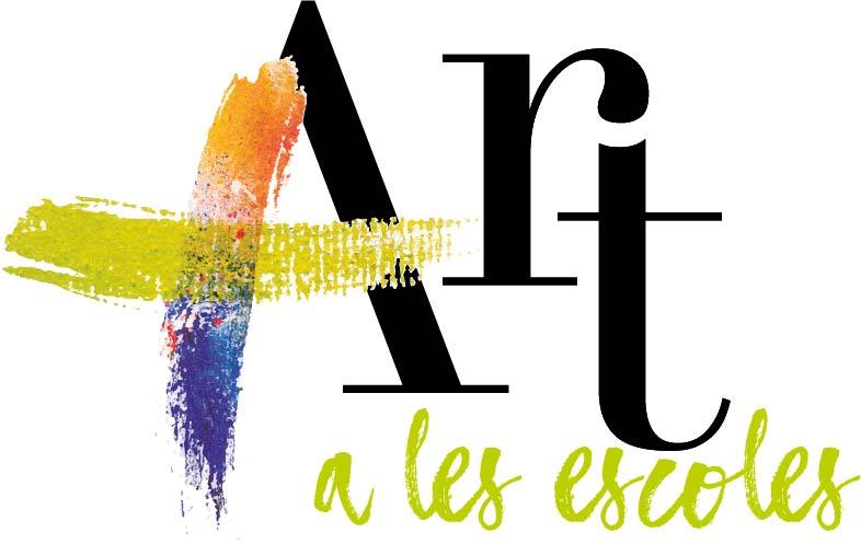 Logo del projectes Més ART a les escoles, impulsat per la FEDAC